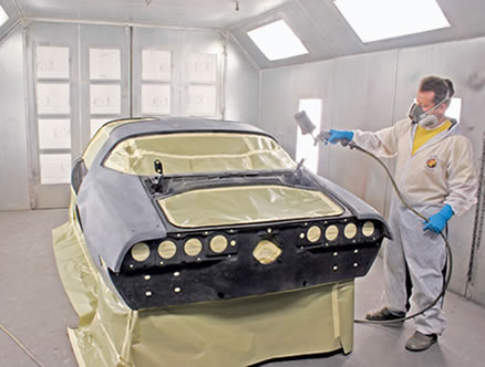 How To Spray Paint Your Car - Spray Painting And Body Work Repair